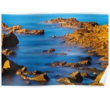 Sunlight on the sea Poster