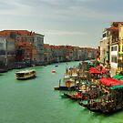 Summer day in Venice by Béla Török