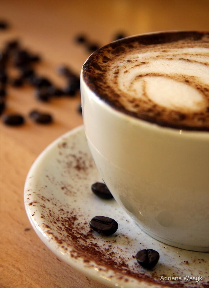 coffee beans by Adriana Wasyk
