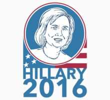 Hillary Clinton President 2016 Elections by patrimonio