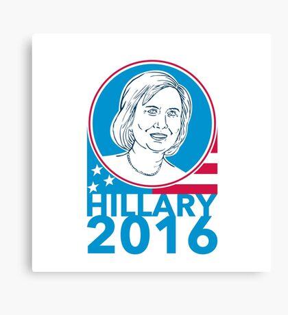 Hillary Clinton President 2016 Elections Canvas Print