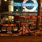 Midnight Bus, Heading Underground london by Tenee Attoh