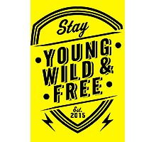 Young Wild Free Photographic Print