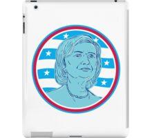 Hillary Clinton Democrat President Candidate iPad Case/Skin