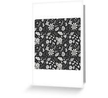 Cute floral seamless vector pattern Greeting Card