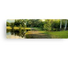 Anderson Park flooded-HDR Canvas Print