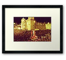 Lord of the Earthquakes Framed Print