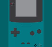 Game Boy Color (Teal) by fmsdesigns
