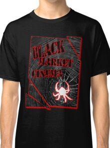 Black Market Cinema Spider logo t-shirt Classic T-Shirt