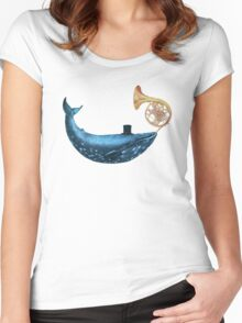 The Cloud Maker  Women's Fitted Scoop T-Shirt