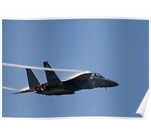 Air Force F-15E Strike Eagle Poster