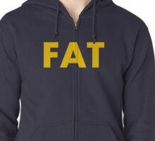 Fat Yellow Zipped Hoodie
