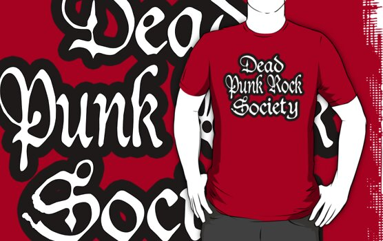 Dead Punk Rock Society by dustyvinylstore