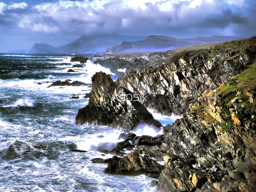 Achill Cliffs by A90Six