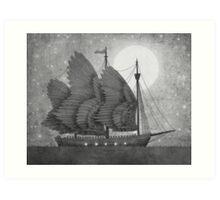 Night Odyssey  Art Print