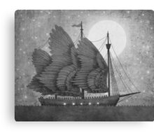 Night Odyssey  Canvas Print