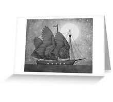 Night Odyssey  Greeting Card