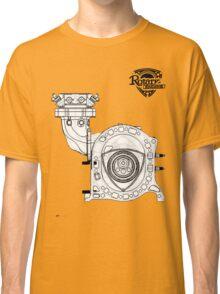 Mazda Rotary Engine Blueprint for Power 13B Classic T-Shirt