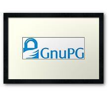 GnuPG Framed Print