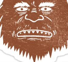 Big Foot Is Watching You Sticker