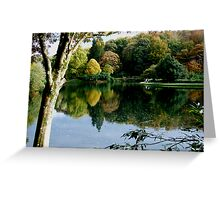 Stourhead Lake Greeting Card