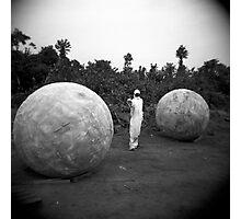 Between balls Photographic Print