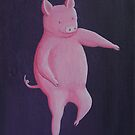 Dancing Pig by fesseldreg