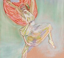 Anna Pavlova (after Sir John Lavery) by MagsWilliamson