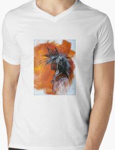 Apenimon = Worthy of Trust Mens V-Neck T-Shirt