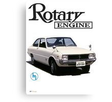 Mazda R10, R100 Rotary Engine Classic Canvas Print