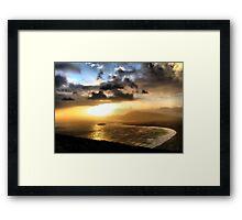 Achill Sunset Framed Print