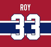 Montreal Canadiens Patrick Roy Jersey Back Phone Case by Russ Jericho