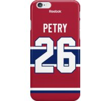 Montreal Canadiens Jeff Petry Jersey Back Phone Case iPhone Case/Skin