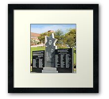 Hell is War ver. 1 Framed Print