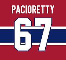 Montreal Canadiens Max Pacioretty Jersey Back Phone Case by Russ Jericho