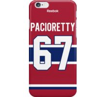 Montreal Canadiens Max Pacioretty Jersey Back Phone Case iPhone Case/Skin