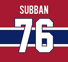 Montreal Canadiens P. K. Subban Jersey Back Phone Case by Russ Jericho