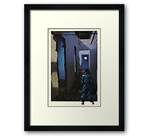 The Detective Framed Print