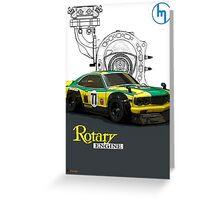 Mazda Rotary RX3 Savanna GT  Greeting Card