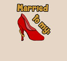 Married to my Shoes Womens Fitted T-Shirt