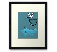 Fishing love... Framed Print
