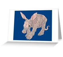 A is for Aardvark Greeting Card