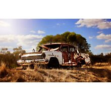 Ej Holden 1963/64 - Seen better days Photographic Print