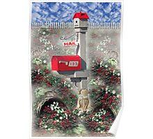 Mail Box Garden Poster
