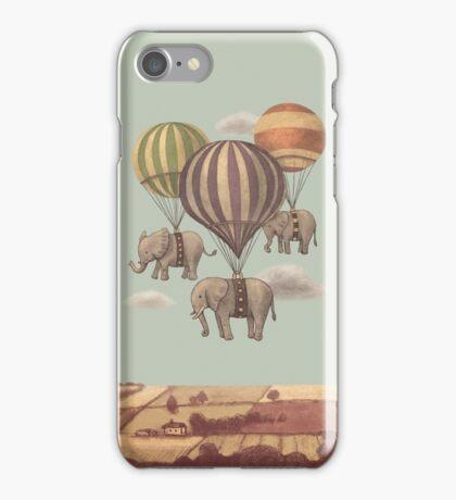 Flight of the Elephants iPhone Case/Skin