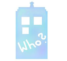 Doctor Who Tardis - Who? by Vanillemufin
