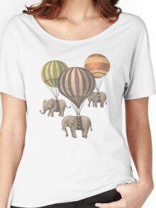 Flight of the Elephants Women's Relaxed Fit T-Shirt