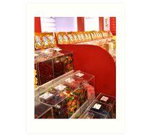 Candy Store Art Print