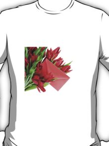 Red envelope in bouquet  T-Shirt