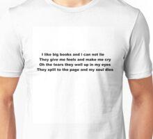 i like big books  Unisex T-Shirt
